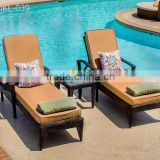 Best selling synthetic rattan Chaise Lounge - Sun Lounger - Beach Chair