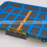 17x12 meters dodgeball trampoline park                                                                                                         Supplier's Choice