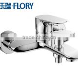 top sales most popular middle level single lever bathroom faucet China brass chromed bathtub faucet