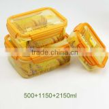 2015 NEWEST Food grade Plastic food container, Wholesale food storage container