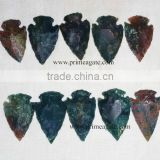 Blood Stone Arrowheads | Wholesale Indian Agate Arrowheads