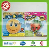 lovely round and fruit shaped big face eraser for kids