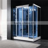 Shower steam cabinet/high grade portable shower steam room /computer controlled steam shower room