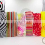 Factory direct wholesale customize disposable plastic flower vase/plastic bag flower vase for decoration