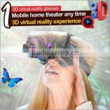 High Video Resolution 3d vr glasses for Phone ,Virtual Screen Virtual reality 3D VR Glasses Movies Games