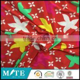Hangzhou textile 2015 latest 100 polyester kintted single jersey fabric for latex mattress