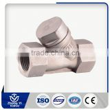Reduce port ball valve low pressure swing check valve supplier