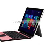 For Surface Pro 3 wireless keyboard for tablet pc support Touchpad-MZ-1078
