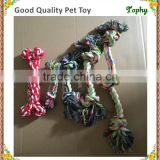 Wholesale Pet dog toy molar teeth dog toys pet Small woven bone cotton rope toy17cm/23cm/30cm/42cm available