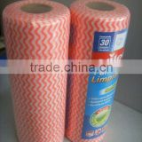 Soft and Comfortable Cross lapping polyester and viscose spunlace nonwoven fabric for wipes tissue hydrophilic