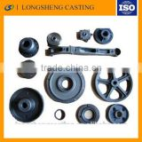Good Quality low price Casting elevator traction/ sheave elevator parts
