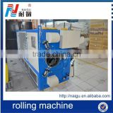China Foshan factory price latex foam mattress compression machine/mattress roll packing machine
