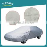TOPRANK 483X175X119CM grey PEVA folding car body cover waterproof sun protection car cover