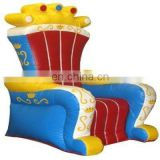 inflatable king throne