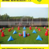 Best selling commercial inflatable bunkers paintball for rental
