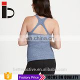 High class fabric new design cross back meternity tank top