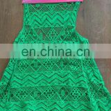 chemical water soluble lace vest