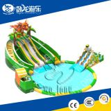 inflatable pool slide for kids/inflatable small pool water slide/inflatable swimming pool