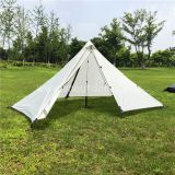 Oudoor 1 Person Pyramid Tent Rodless Backpacking Waterproof Lightweight Hiking Camping Hiking Ultralight Tents