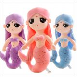 Customize Plush Toy Mermaid with beautiful dress and embroidery eyes