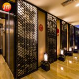Jyf0042 Fashionable Stainless Steel Indian Metal Art Wall Decoration Decorative Hall Laser Cut Sheet Art Metal Panels Screen