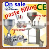 Dongguan machinery pneumatic paste gel filling machine/pastry cream filling machine/liquid piston filler