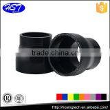 atv free samples high temperature flexible id 70-60mm black color straight reducer silicone hose