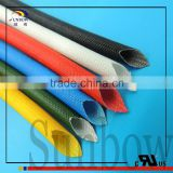 High Voltage Application Insulation Sleeving SB-SGS-15 Silicone Resin Coated Fiberglass Sleeving for Alternators