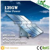 New Generation 1.5KW Complete Off Grid Mobile Solar Power System                                                                         Quality Choice