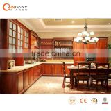 solid wood kitchen cabinet with plywood carcase(KDY-SS070), kitchen cabinet shelf brackets