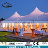 Durable strong aluminum frame hotel marquee tent, customize tents from Guangzhou tent manufacturer