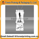 Custom all kinds of hang tag free design high quality airline paper baggage tag