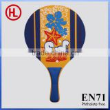 brand new surf Hot sale Customized high quality carbon Wooden Beach Tennis Racket /beach paddle set with beach racker wholesale