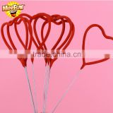 United Kingdom Best Selling alligator birthday party supplies heart shaped sparklers for weddings mini sparklers