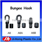 Plastic elastic cord hook bukcle for bungee hook