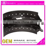 BPW truck brake shoes/ truck brake shoe with lining/high quality truck brake parts