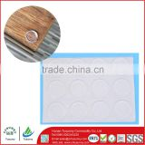 Transparent Adhesive glass table protector Bumper Glass Table Rubber shock absorber pads