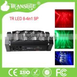 Fast Production CE ROHS certification led spider light high power1 year warrantyled stage spider light