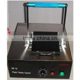 Flash stamp machine for pre inked stamp