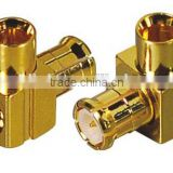 RF Coaxial connector Male Right Angle MCX Connector