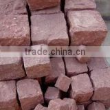 Shandong purple cube sandstone for paving