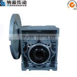 NMRV 040 15 : 1 aluminium alloy worm drive hangzhou reduction gearbox,manual worm gearbox