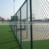 Fencing of a baseball field/diamond mesh