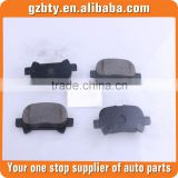 Disc Brake Pads 04466-06030 Used For Toyota Avalon Camry MCX20 with excellent quality auto parts ffit for camry