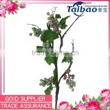 DIY fake trees for weddings decoration artificial grape vine branch with leaves