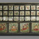 Tibetan antique medicine Cabinet, Chinese antique furniture                                                                         Quality Choice