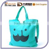 Custom Cheap Canvas Cute Ec-Friendly Wholesale Shopping Bag Lady Tote Promotional Handbag Beach Bag