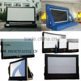 Commercial Inflatable Movie Screen/Inflatable movie screen for sale/inflatable rear projection screen