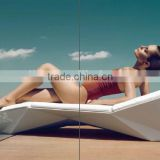 fiberglass resin waterproof outdoor furniture sun loungers tanning sunbed