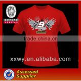 Made in China Custom Print t-shirt w/ Your Company Logo,Image Design For Advertising & Promotion t shirt Bulk Wholesale